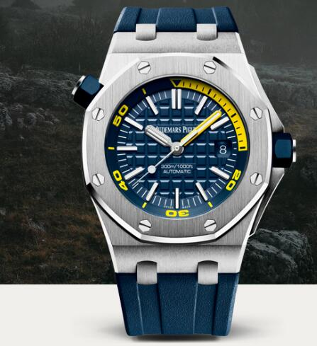 Replica AP Watch Audemars Piguet ROYAL OAK OFFSHORE DIVER SPECIFICATIONS 15710ST.OO.A027CA.01