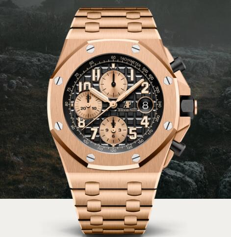 Replica AP Watch Audemars Piguet ROYAL OAK OFFSHORE SELFWINDING CHRONOGRAPH 26470OR.OO.1000OR.03