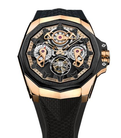 Corum Admiral 45 TOURBILLON OPENWORKED Watch Replica Ref. A298/03901 - 298.100.86/F249 AD10