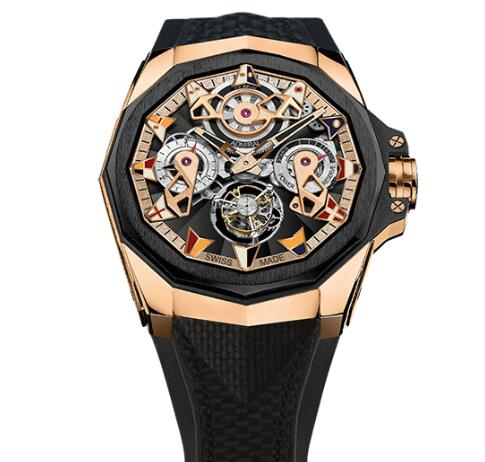 Corum Admiral 45 TOURBILLON OPENWORKED Watch Replica Ref. A298/04127 - 298.100.86/F249 AD12