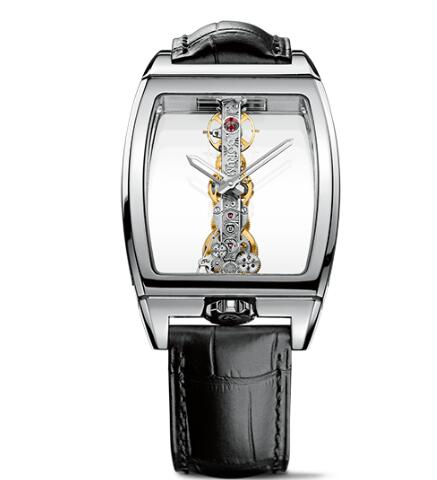 Corum Watch Golden Bridge Classic WHITE GOLD Replica Ref. B113/01042 - 113.160.59/0001 0000
