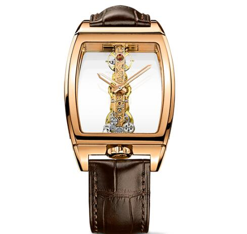 Corum Watch Golden Bridge Classic ROSE GOLD Replica Ref. B113/01043 - 113.160.55/0002 0000
