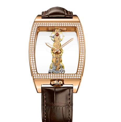 Corum Watch Golden Bridge Classic ROSE GOLD DIAMONDS Replica Ref. B113/01045 - 113.161.85/0002 0000